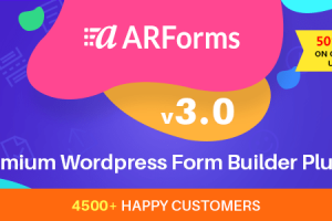ARForms v3.0 - Wordpress Form Builder Plugin Download Free