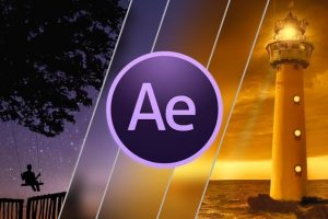 After Effects CC 2018 Design Professional Video Transitions Download Free Tutorial