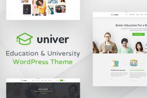 University WordPress Theme - Univer Download Free