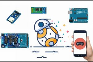 DIY Bluetooth Phone Controlled BB-8 Droid with Arduino Course Free Download