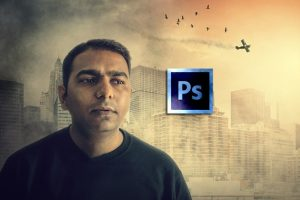 Become Expert in Photoshop- City on Attack PhotoManipulation