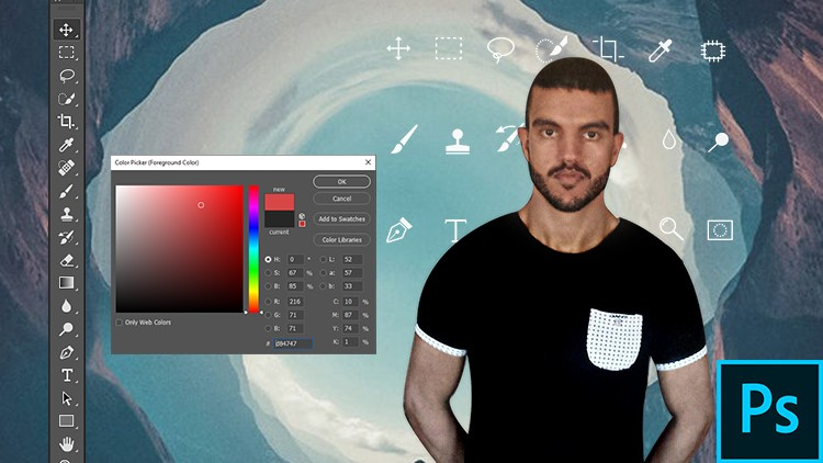 Photoshop Full guide in 90min - Learn Adobe Photoshop