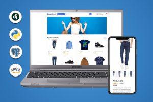 Django Ecommerce | Build Advanced Django Web Application Build Django eCommerce website with a lot of advanced custom functionalities, RDS Postgres and deploy it on Amazon AWS