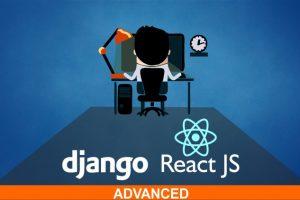 React & Django Full Stack: Advanced React front-end web app and Django back-end API - advance modern concepts