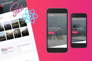 React, Context & SASS Build a Real-World Responsive Website Learn React.js, Context API, Flexbox and SASS/SCSS, Create Multi Pages Responsive Website