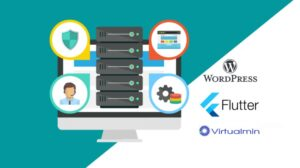 Virtual Private Server (VPS) - WordPress site & Flutter web Self managed VPS   Host WordPress site and flutter web app   Opensource WordOps and Virtualmin control panel   Firewall